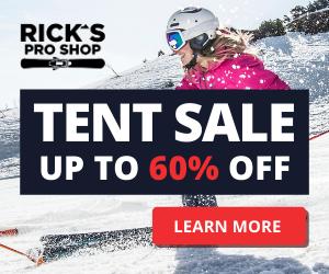 Digital marketing portfolio - Tent sale example 2