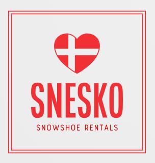 Snesko Snowshoe Rentals logo